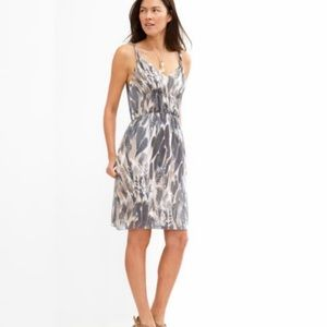Banana Republic | Gray Watercolor Dress | Sz 2